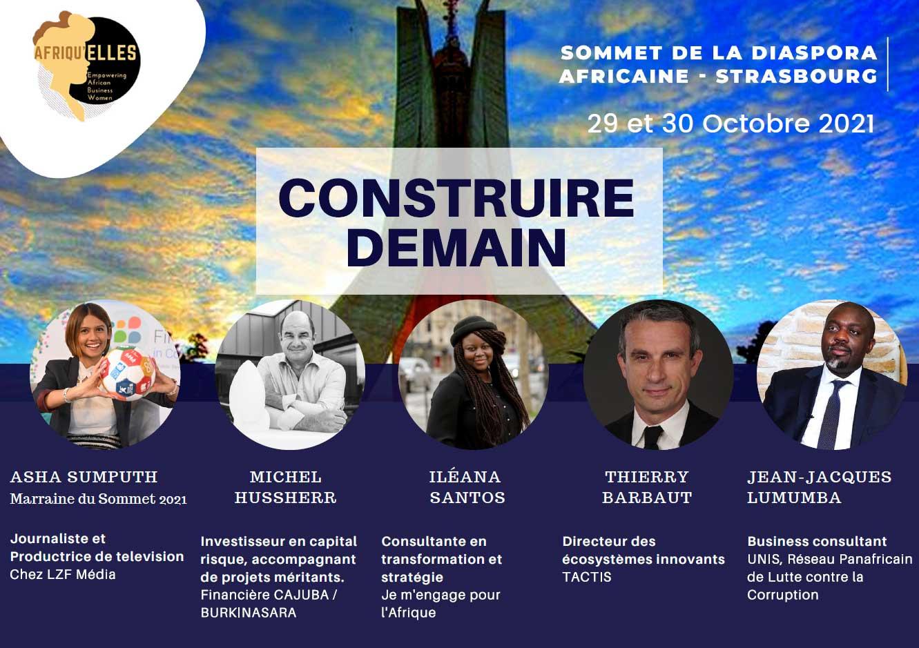Sommet de la diaspora Africaine de Strasbourg Construire demain
