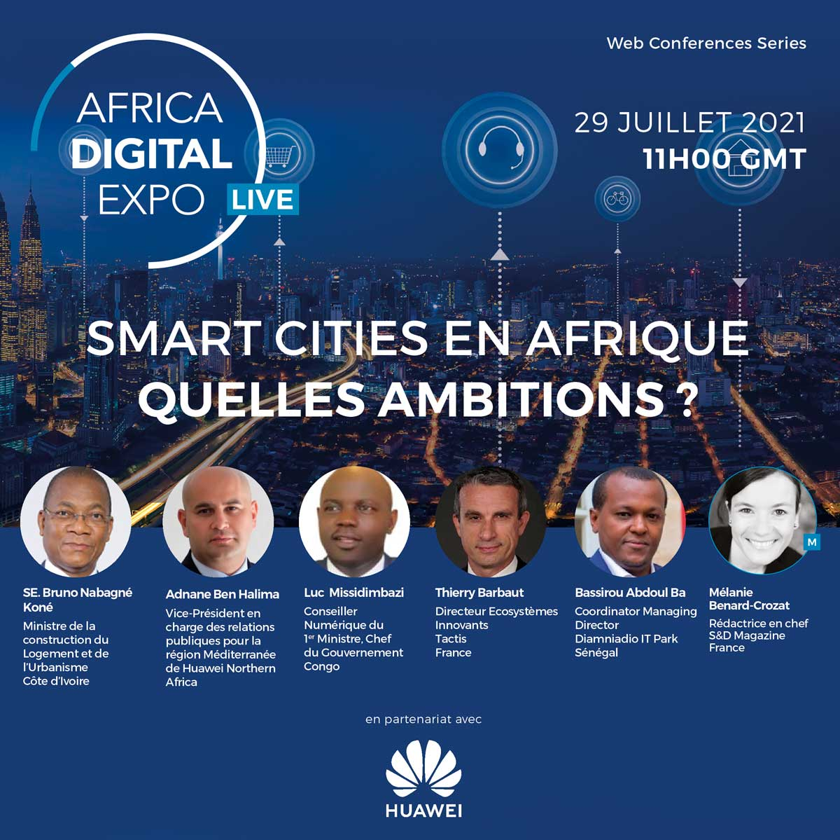 Huawei Smart Cities - Thierry Barbaut