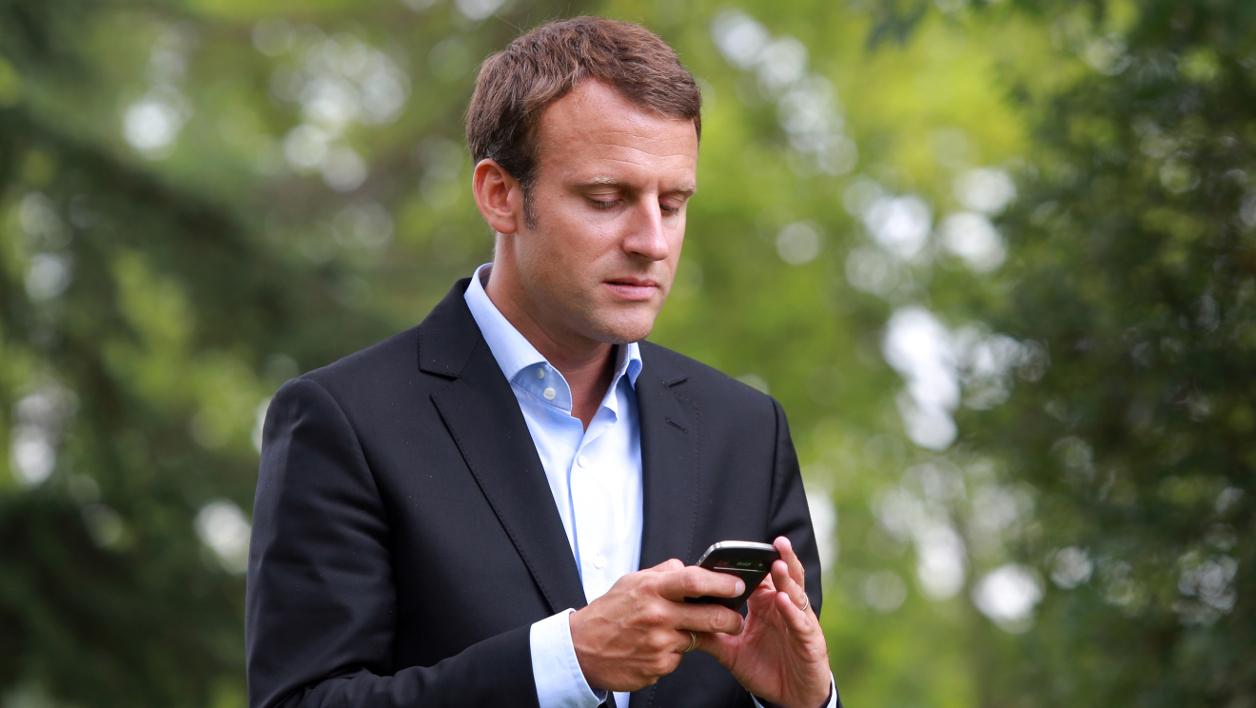 Fonds sur le numérique Emmanuel Macron