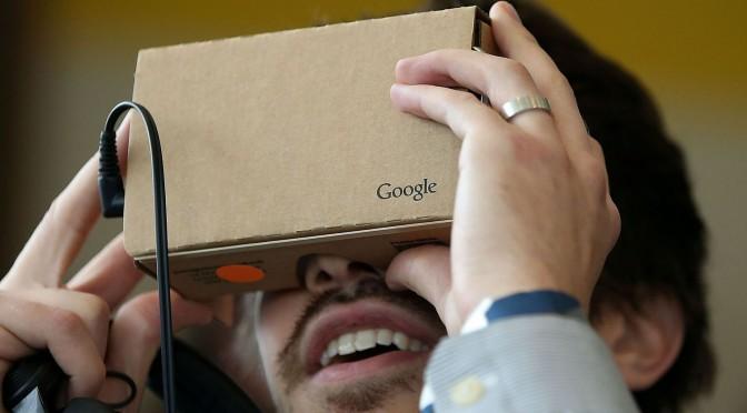 Réalité virtuelle et la stratégie de Google