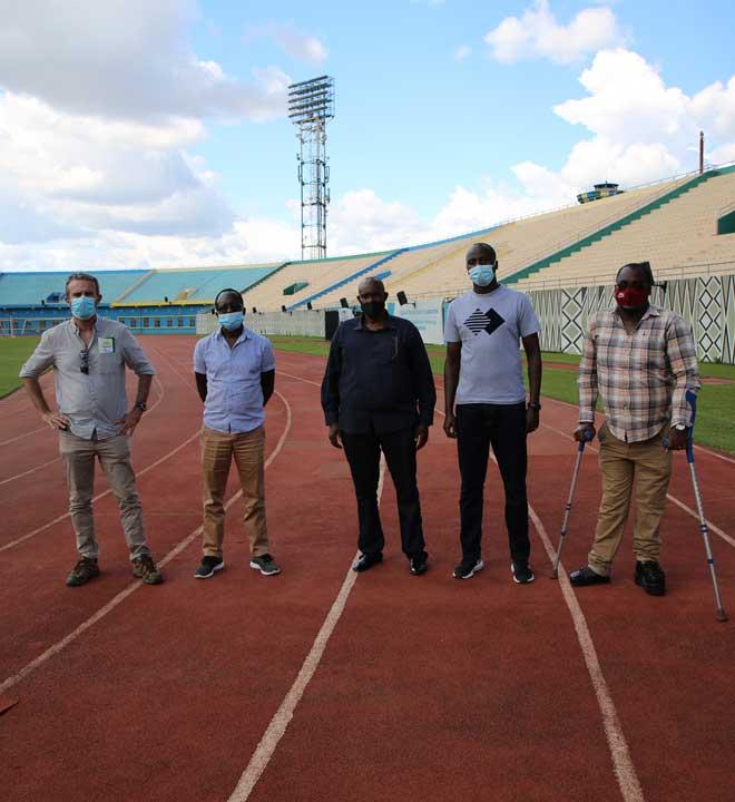 Les infrastructures sont dans tous les domaines, comme ici le sport, une des clés du développement