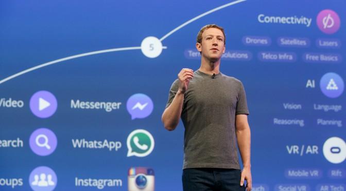 Mark Zukerberg dévoile les développements de facebook pour les 10 prochaines années